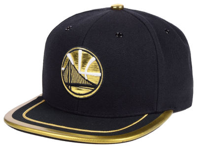 Golden State Warriors Mitchell & Ness NBA Soutache Viz Snapback Cap