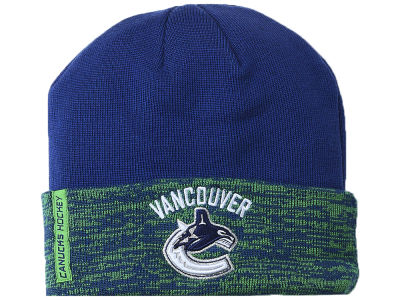 Vancouver Canucks NHL Pro Rinkside Cuffed Knit