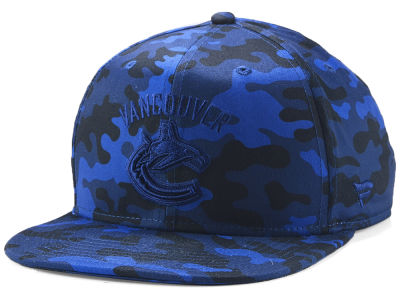 Vancouver Canucks NHL Mute Camo Snapback Cap