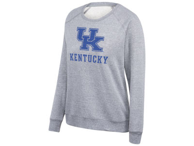 Kentucky Wildcats NCAA Women's Bling Tri-blend Sweatshirt