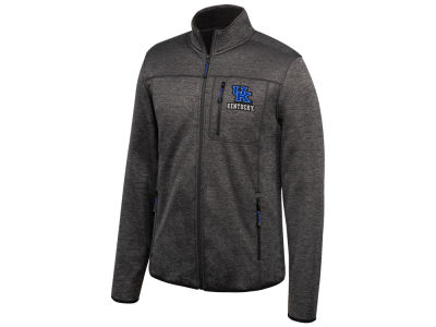 Kentucky Wildcats NCAA Men's Heathered Flint Rock Full Zip Jacket