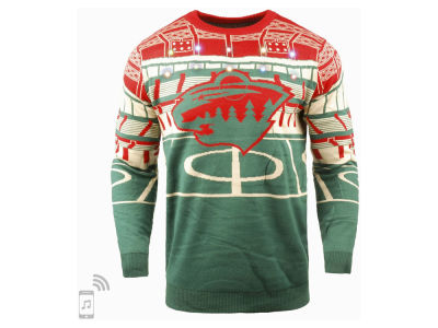 Minnesota Wild NHL Men's Bluetooth Ugly Sweater