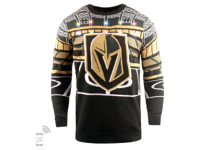 Vegas Golden Knights NHL Men's Bluetooth Ugly Sweater