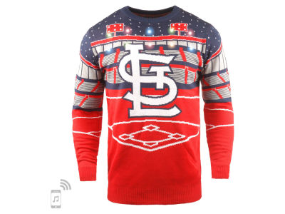 St. Louis Cardinals MLB Men's Bluetooth Ugly Sweater