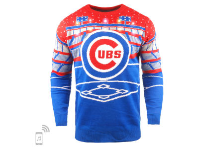 Chicago Cubs MLB Men's Bluetooth Ugly Sweater