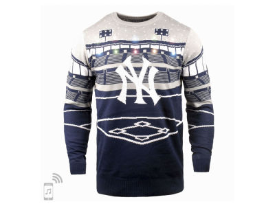 New York Yankees MLB Men's Bluetooth Ugly Sweater