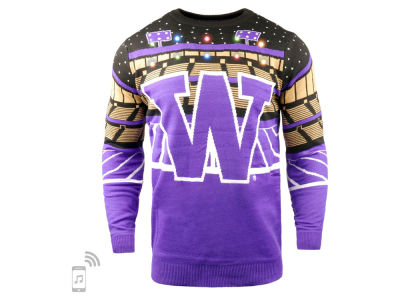 Washington Huskies Forever Collectibles NCAA Men's Bluetooth Sweater