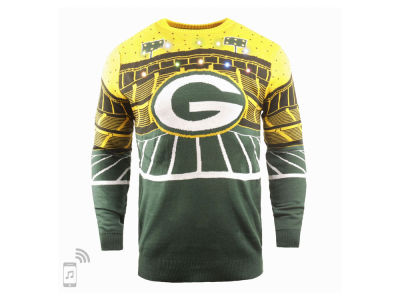 Green Bay Packers Forever Collectibles NFL Men's Bluetooth Sweater