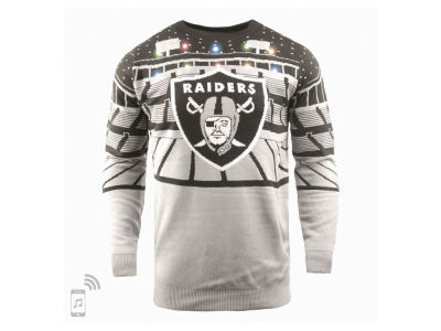 Oakland Raiders Forever Collectibles NFL Men's Bluetooth Sweater