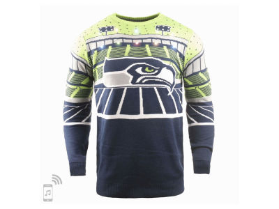 Seattle Seahawks Forever Collectibles NFL Men's Bluetooth Sweater
