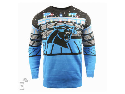 Carolina Panthers Forever Collectibles NFL Men's Bluetooth Sweater