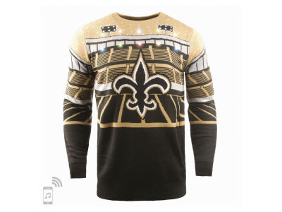 New Orleans Saints Forever Collectibles NFL Men's Bluetooth Sweater