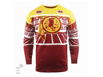 Washington Redskins Forever Collectibles NFL Men's Bluetooth Sweater