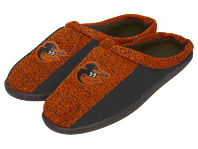 Baltimore Orioles Poly Knit Cup Sole Slippers