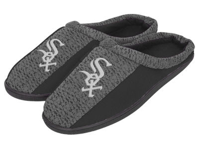 Chicago White Sox Poly Knit Cup Sole Slippers