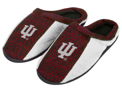 Indiana Hoosiers Poly Knit Cup Sole Slippers