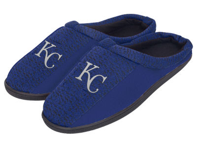 Kansas City Royals Poly Knit Cup Sole Slippers