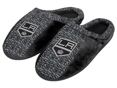 Los Angeles Kings Poly Knit Cup Sole Slippers