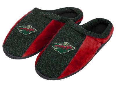 Minnesota Wild Poly Knit Cup Sole Slippers