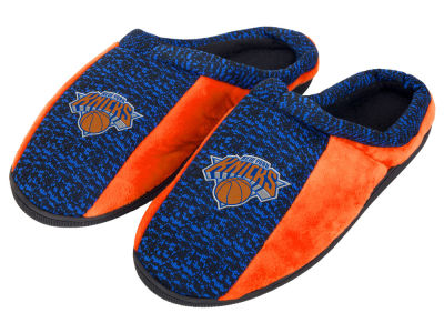 New York Knicks Poly Knit Cup Sole Slippers