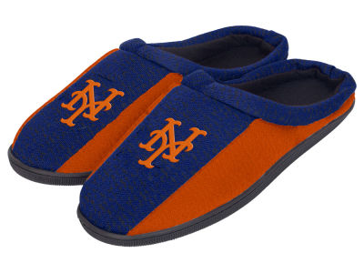 New York Mets Poly Knit Cup Sole Slippers