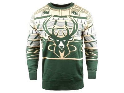 Milwaukee Bucks Forever Collectibles NBA Men's Bluetooth Sweater
