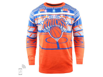 New York Knicks Forever Collectibles NBA Men's Bluetooth Sweater