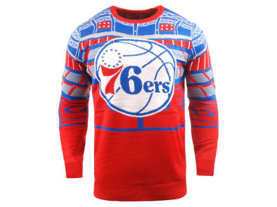 Philadelphia 76ers Forever Collectibles NBA Men's Bluetooth Sweater