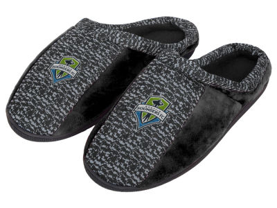 Seattle Sounders FC Poly Knit Cup Sole Slippers