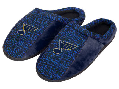 St. Louis Blues Poly Knit Cup Sole Slippers