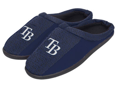 Tampa Bay Rays Poly Knit Cup Sole Slippers