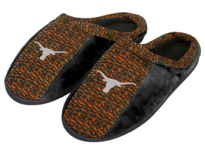 Texas Longhorns Poly Knit Cup Sole Slippers