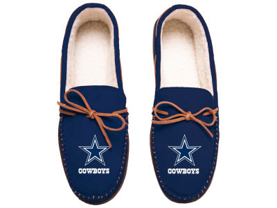 Dallas Cowboys Team Color Big Logo Moccasin