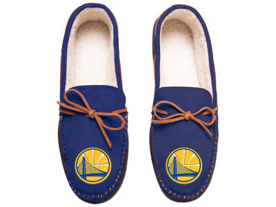 Golden State Warriors Team Color Big Logo Moccasin