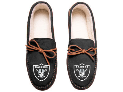 Oakland Raiders Team Color Big Logo Moccasin