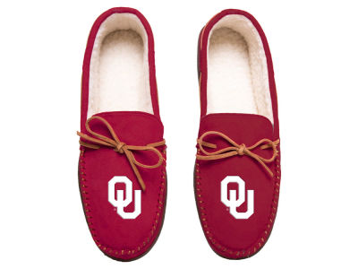 Oklahoma Sooners Team Color Big Logo Moccasin