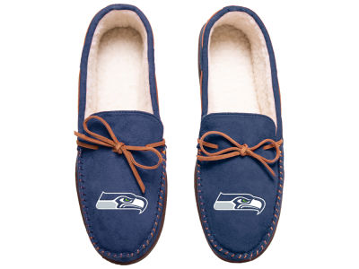 Seattle Seahawks Team Color Big Logo Moccasin