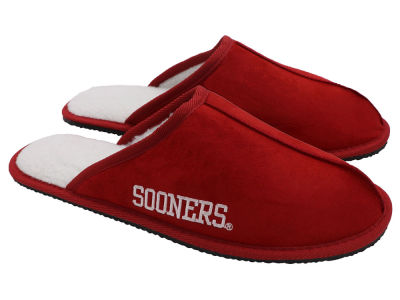 Oklahoma Sooners Team Color Wordmark Open Back Moccasin
