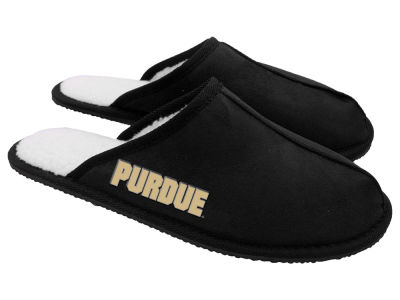 Purdue Boilermakers Team Color Wordmark Open Back Moccasin