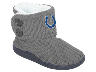 Indianapolis Colts Women's Knit Two Button Boot