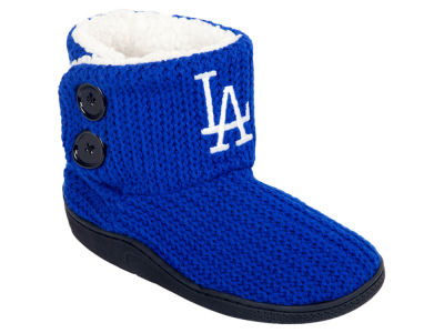 Los Angeles Dodgers Women's Knit Two Button Boot