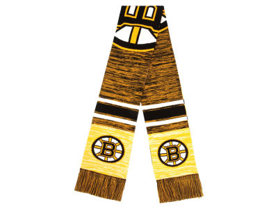 Boston Bruins 2018 Knit Color Blend Big Logo Scarf