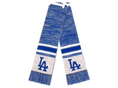 Los Angeles Dodgers 2018 Knit Color Blend Big Logo Scarf