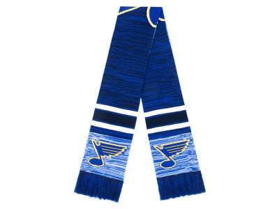 St. Louis Blues 2018 Knit Color Blend Big Logo Scarf