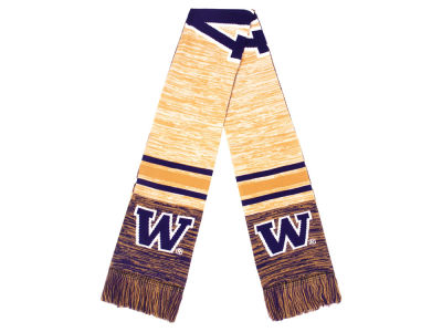 Washington Huskies 2018 Knit Color Blend Big Logo Scarf