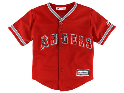 Los Angeles Angels Majestic MLB Infant Blank Replica CB Jersey
