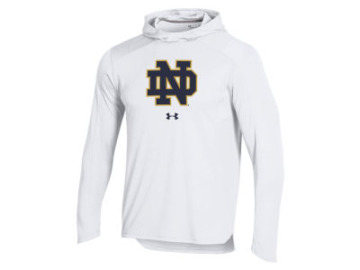Notre Dame Fighting Irish Under Armour NCAA Men's Basketball Warmup Hooded Shooter Shirt