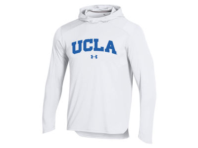 UCLA Bruins Under Armour NCAA Men's Basketball Warmup Hooded Shooter Shirt