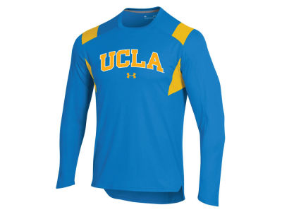 UCLA Bruins Under Armour NCAA Men's Basketball Warmup Crew Shooter Sweatshirt