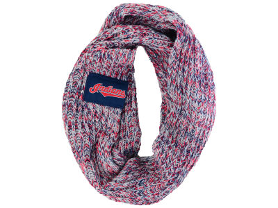 Cleveland Indians Forever Collectibles All Over Logo Infinity Wrap Scarf